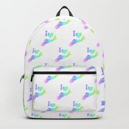 I Love Nova Scotia Pastels - Canada Backpack