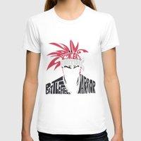 bleach T-shirts featuring renji abarai bleach by Rebecca McGoran