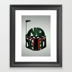 He's No Good To Me Dead! Framed Art Print