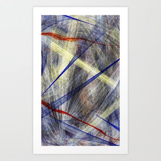 Ink Explosion  Art Print