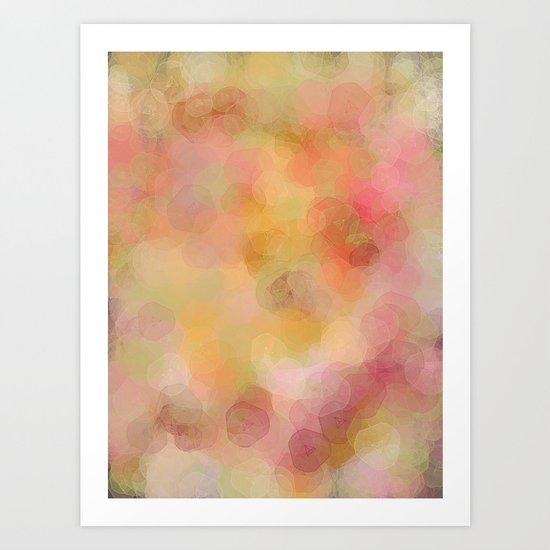 Colour Blur Art Print