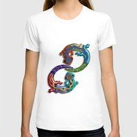techno T-shirts featuring Techno Geckos by Illustrated Light and Color