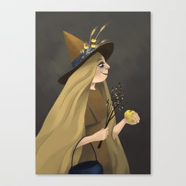 A Witchy Picture Day Canvas Print