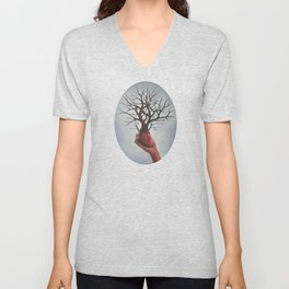 Nourishing Heart Unisex V-Neck