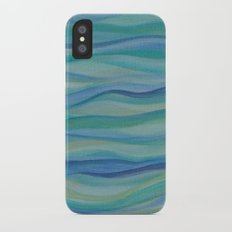 Surf Abstract Waves Slim Case iPhone X