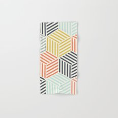 Colorful Geometric Hand & Bath Towel