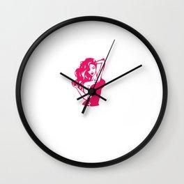 Funny Bye Felicia Saying Tshirt Design At work like Wall Clock