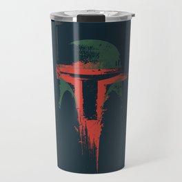 Boba Fett Art - StarWars Fan Painting Travel Mug