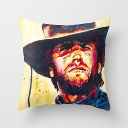 Pull Your Pistols Throw Pillow