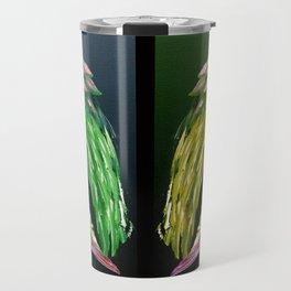 Angels Green & Gold Travel Mug