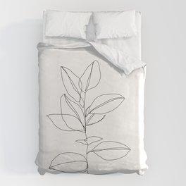 One line plant illustration - Dany Bettbezug
