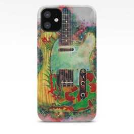 Jimmy Page's dragon guitar iPhone Case