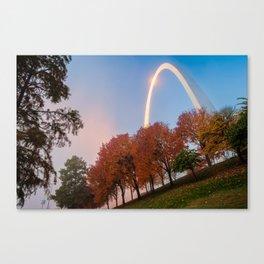 Gateway Arch Autumn Splendor - Saint Louis Missouri Canvas Print
