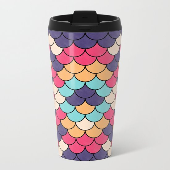 Lovely Pattern CIII Metal Travel Mug
