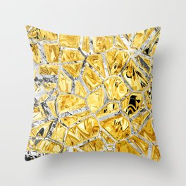 GOLDIE X Throw Pillow