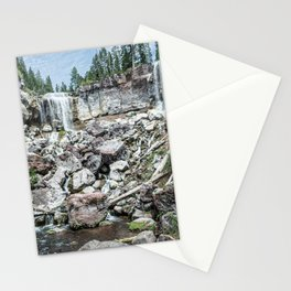 Rock Land Waterfall // Natural Beauty Wilderness Photography Decoration Stationery Cards