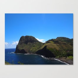 Beautiful colors of the West side of Maui 2 Canvas Print