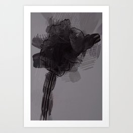 leaf three Art Print