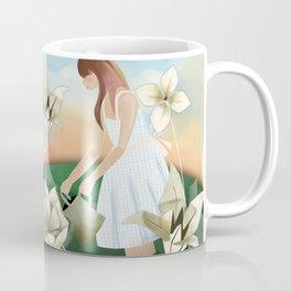 Origami Garden Coffee Mug