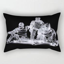Me Myself and I a long exposure light painting photograp Rectangular Pillow