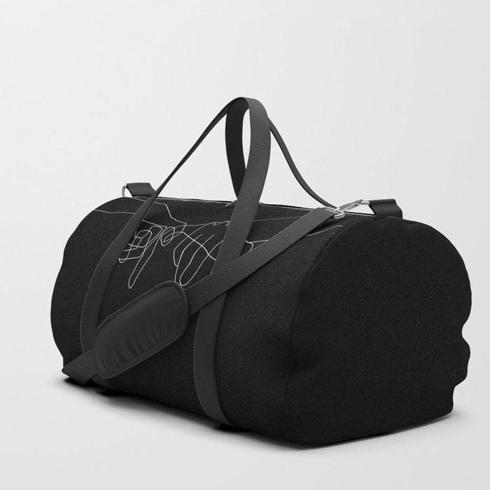 Black Pinky Swear Sporttaschen