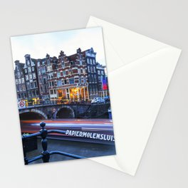Papiermolensluis, Amsterdam, Netherlands ,Bridge Stationery Cards