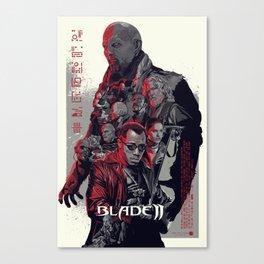 Blade II • Vector Art Canvas Print