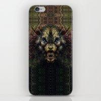 beast iPhone & iPod Skins featuring Beast by Zandonai