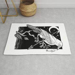 Night Crow Rug
