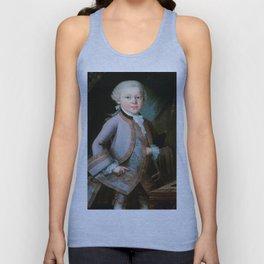 Wolfgang Amadeus Mozart (1756 -1791) by Barbara Krafft (1819) Unisex Tank Top