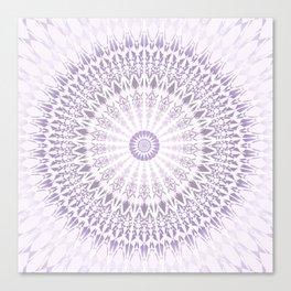 Purple Mandala Canvas Print