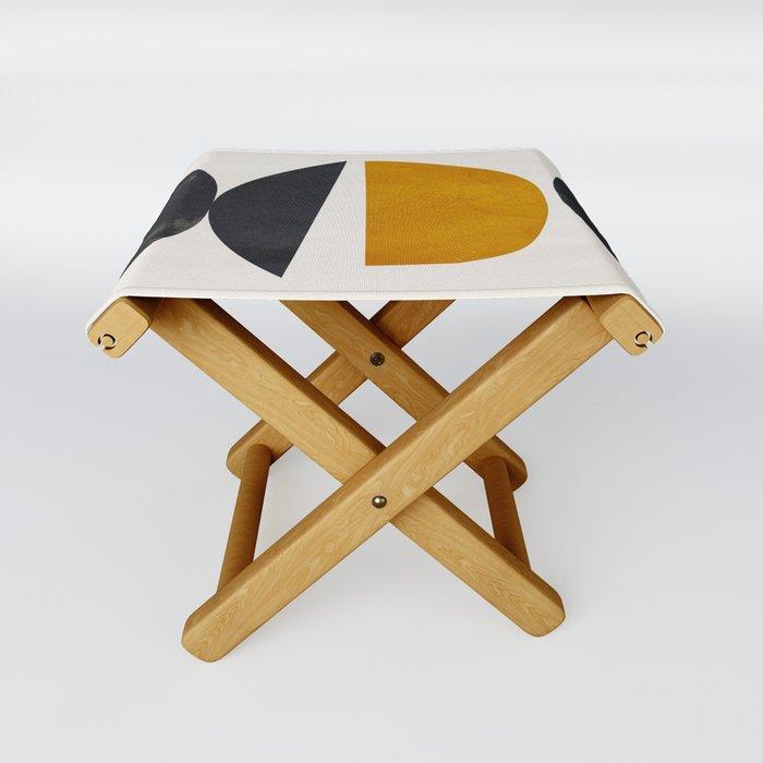 abstract minimal 23 Folding Stool