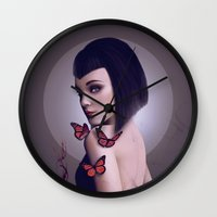 rogue Wall Clocks featuring Rogue by Whendell