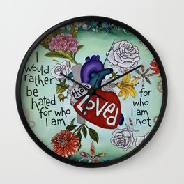 Would You Rather Wall Clock