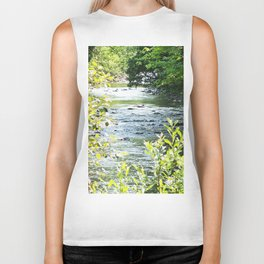 A River runs through it Biker Tank