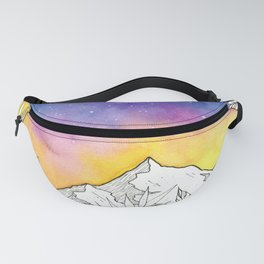 Mountain Through the Jungle Fanny Pack