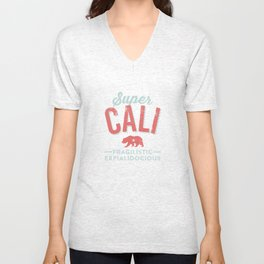 Super CALI Unisex V-Neck