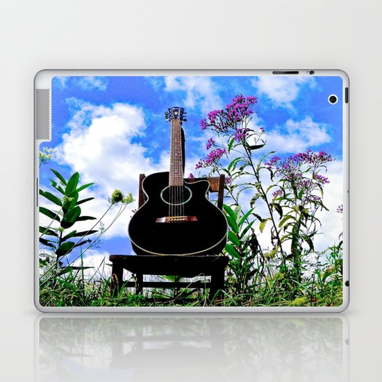 Music & Nature Laptop & iPad Skin