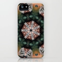 Crystals and kaleidoscopes iPhone Case