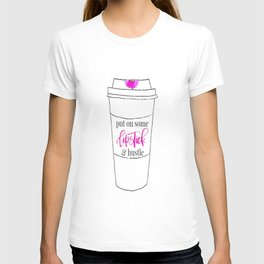 Lipstick and Hustle T-shirt