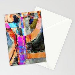 Artful Spirit Mosaic Bold Pattern Colorful Geometric Abstract - Corbin Henry Stationery Cards