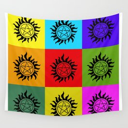 Supernatural Color Block Wall Tapestry