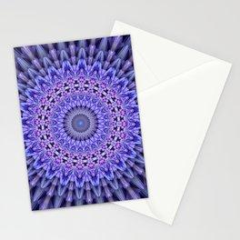 Lilac glamour mandala Stationery Cards