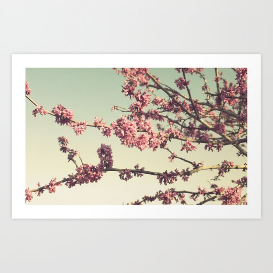 the songs of spring Art Print