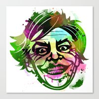 joker Canvas Prints featuring JoKER by BIG Colours
