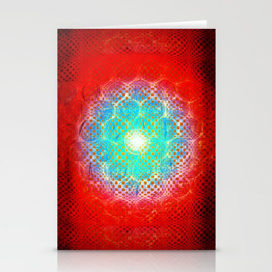 Alien Egg Cluster Stationery Cards