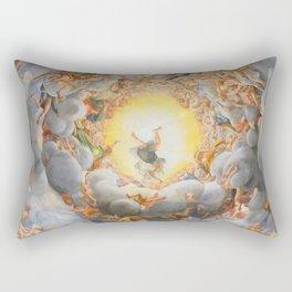 """Antonio Allegri da Correggio """"Cathedral (Parma) - Assumption"""" Rectangular Pillow"""