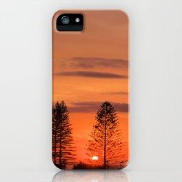 Kings Beach Sunrise iPhone Case