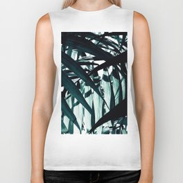 Inside of Palm Trees Biker Tank