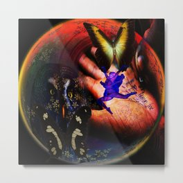 Time for Change Metal Print